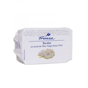 Bacalao en Aceite de Oliva Virgen Extra (lata 120 gr)