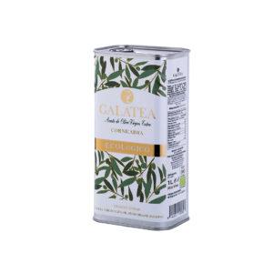 Aceite de oliva virgen extra Ecológico lata 1l Galatea