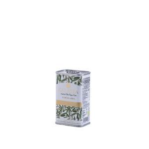 Aceite de oliva virgen extra ecológico lata 250 ml Galatea