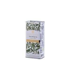 Aceite de oliva virgen extra ecológico lata 500 ml Galatea