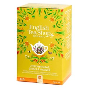 Té bio limón, jengibre y cítricos English Tea Shop