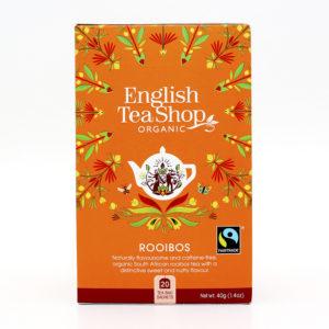 Té rooibos bio English Tea Shop
